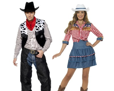 cowboys and western fancy dress costumes