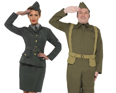 army military fancy dress
