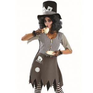 Ladies Hallowed Hatter Lady Costume