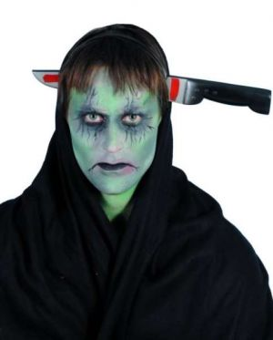 Halloween Fancy Dress - Joke Knife Through the Head