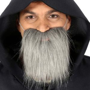 Mens Grey Beard