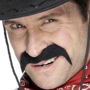 Cowboy Fancy Dress Tash - Black