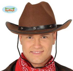 Felt Cowboy Fancy Dress Brown Hat