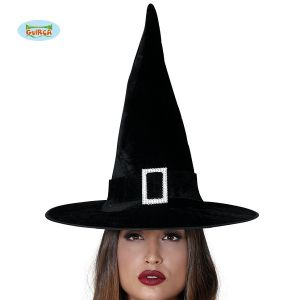 Adult Witch Hat with Buckle