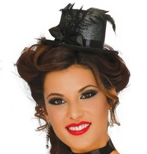 Mini Top Hat with feather
