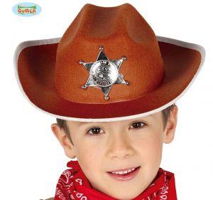 Boys Felt Sheriff Hat