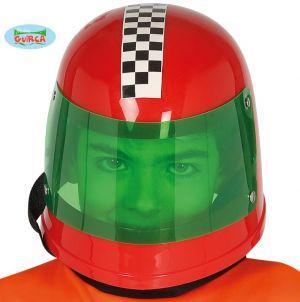 Racing Driver Helmet in Red