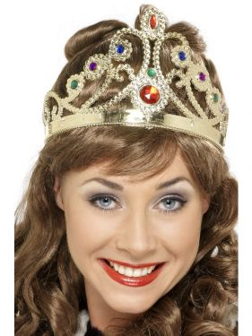 Christmas Fancy Dress - Queens Crown with Jewels
