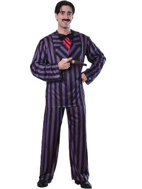 Deluxe Gomez Addams Fancy Dress Costume