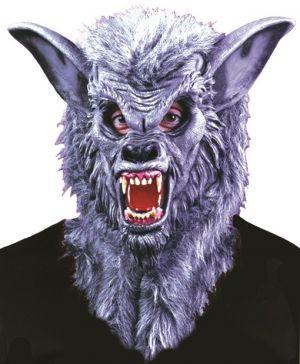Halloween Deluxe Werewolf Mask with Teeth