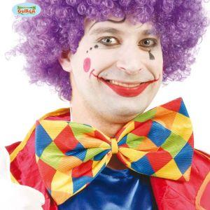 Clown Fancy Dress Oversized Bowtie
