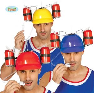 Stag Party Hard Hat for Drinking