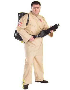Halloween 80's Ghostbusters Costume - Large Plus Size