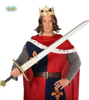 Extra Long Medieval Knight Fancy Dress Sword