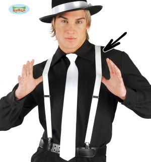 1920s Gangster Fancy Dress Elasticated Braces
