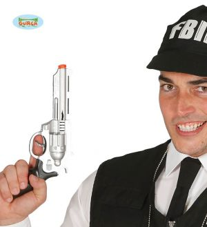 Armed Police FBI Fancy Dress Hand Gun
