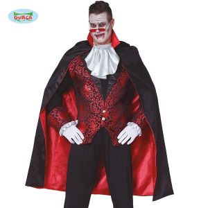 Deluxe Lined Vampire Cape with Collar 115cm