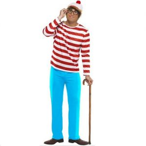 Mens Wheres Wally Costume