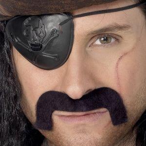 Pirate Fancy Dress Tash - Black