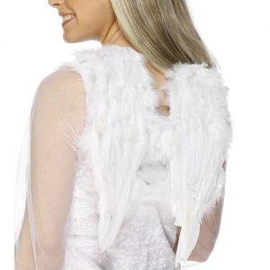 Christmas Angel Wings - White