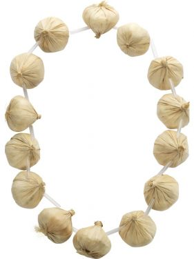Mens Fancy Dress Frenchman Garlic Garland