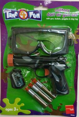 Military Fancy Dress Gun Set