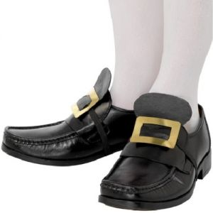 Fancy Dress Shoe Buckles - Pirate, Gent, Musketeer