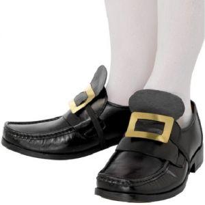 Fancy Dress Shoe Buckles - Pirate, Gent, Musketeer