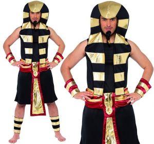 Mens Egyptian Pharaoh Fancy Dress Costume