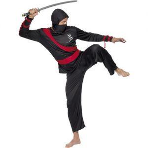 Mens Ninja Fancy Dress Costume