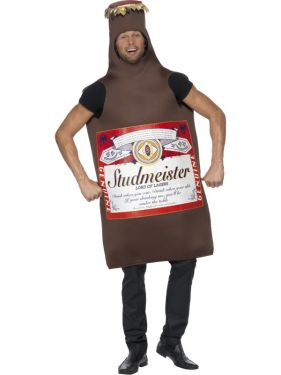 Studmeister Beer Bottle Fancy Dress Costume - One Size