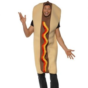 Hot Dog Fancy Dress Costume