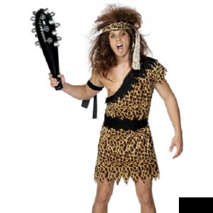 Mens Fancy Dress - Caveman Costume