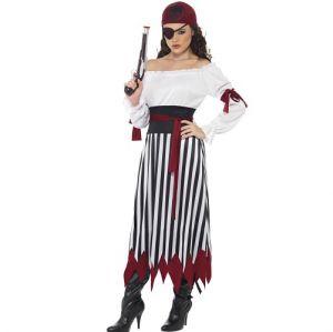 Pirate Lady Fancy Dress Costume