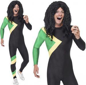 Jamaican Bobsleigh Hero BodySuit Costume