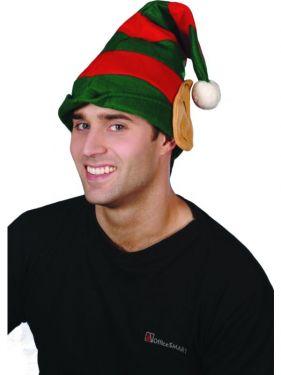 Christmas Fancy Dress Elf Hat with Ears