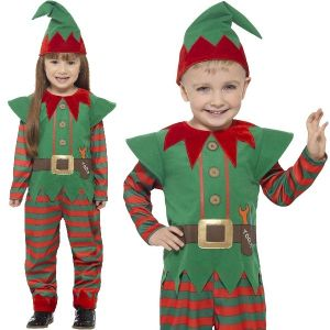 Kids Toddler elf costume