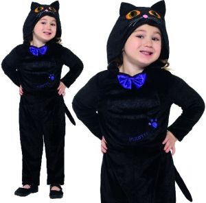 Childs Halloween Cat Costume - Baby & Toddler