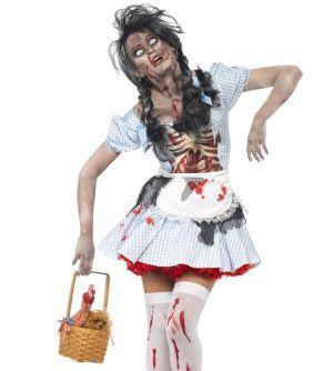 Ladies Zombie Dorothy Costume