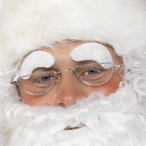 Christmas Fancy Dress Santa Eyebrows - Self Adhesive