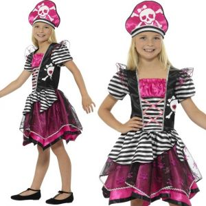 Perfect Pirate Girl Fancy Dress Costume