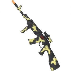 Army Fancy Dress Gun with Sounds