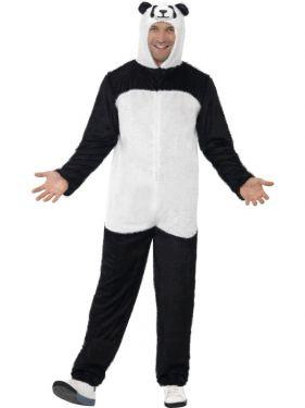 Panda Fancy Dress Animal Costume - M or L