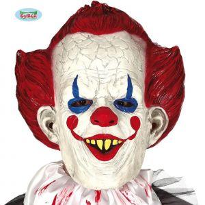 Latex Sinister Clown Mask