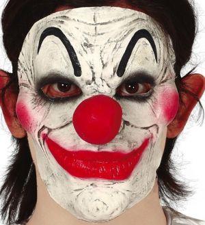 Half Face Clown Mask
