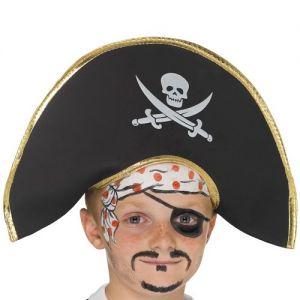 Childrens Pirate Captain Hat