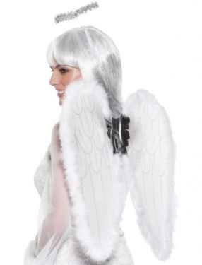 Christmas Fancy Dress Angel Wings & Halo