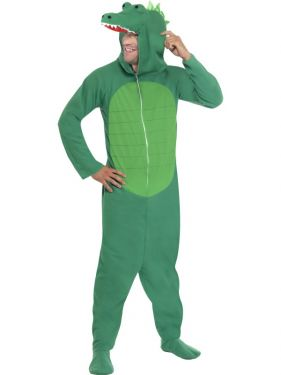 Crocodile Onesie Fancy Dress Animal Costume
