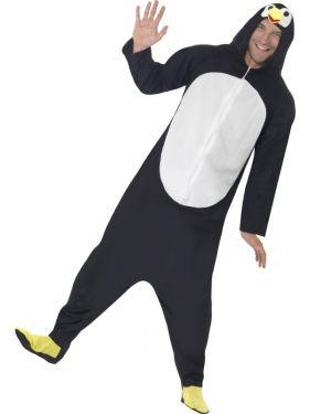Penguin Onesie Fancy Dress Animal Costume