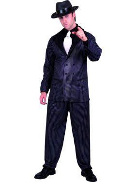 Mens Gangster Fancy Dress Costume